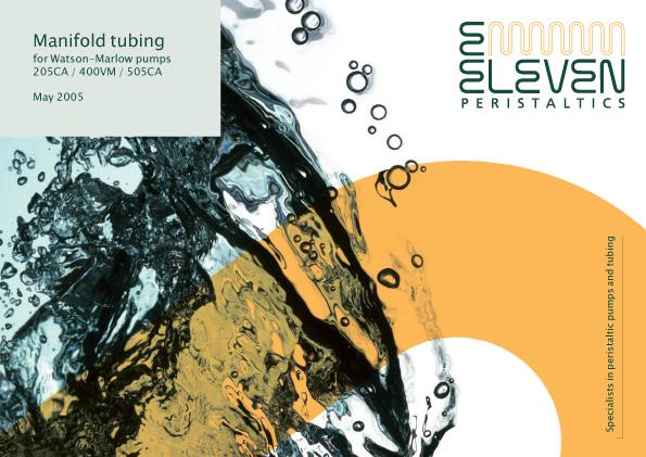 E-ELEVEN Tubing List